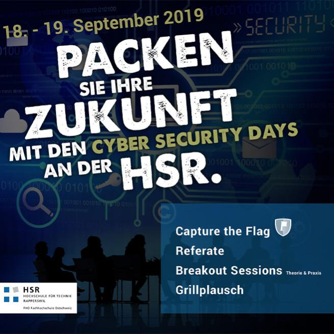 ifa news cyber security days an der hsr rapperswil